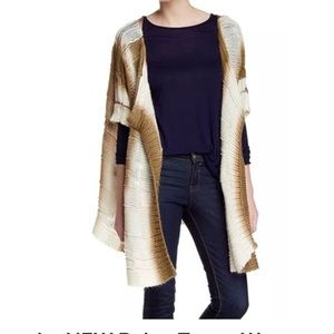 Sweaters - New draped poncho open front knitted cardigan wrap